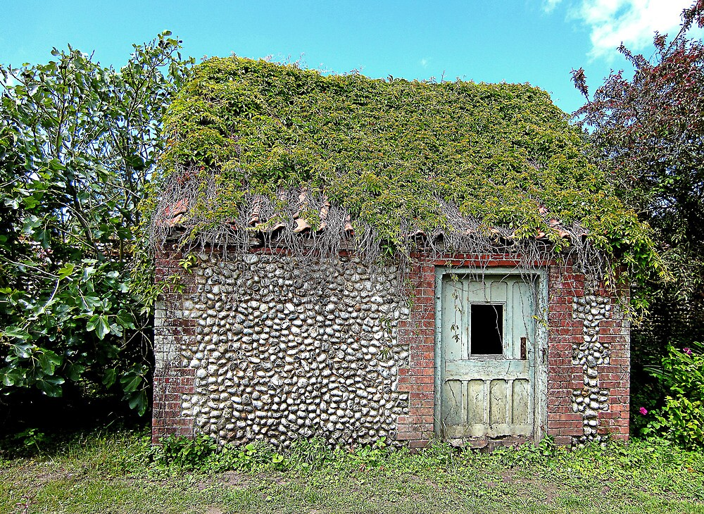 Brick flint and thatch? by Paul Pasco