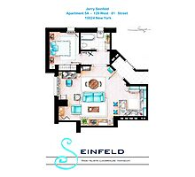 Seinfeld Apartment v2 Photographic Print