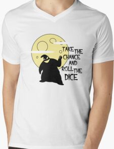 Bau bau - Take the chance and roll the dice Mens V-Neck T-Shirt