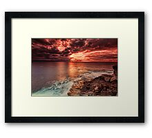 Lone Fisherman Framed Print