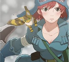 Nausicaa of the valley of the wind  by Optimistic  Sammich