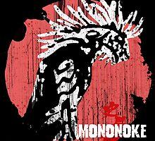 Princess Mononoke - Godzilla version  by NomadSenpai
