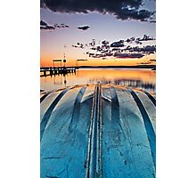 One Hull've A Sunset Photographic Print