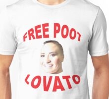 FREE POOT LOVATO Unisex T-Shirt