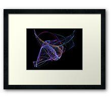 Equine Flame Framed Print