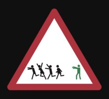 Warning! Zombies Ahead by Christopher Johnson