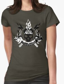 Classic TRS Skull Shirt Womens Fitted T-Shirt