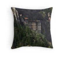 Sümela Monastery,Trabzon Throw Pillow