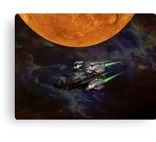 Get aboard the ship of the future Canvas Print