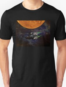 Get aboard the ship of the future T-Shirt