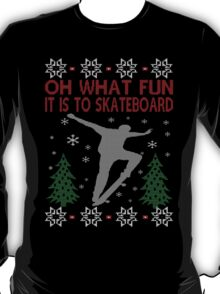 SKATEBOARDING CHRISTMAS T-Shirt