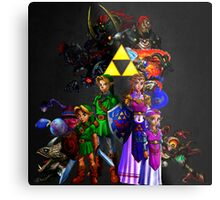 Ocarina Of Time All Bosses Metal Print