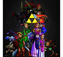 Ocarina Of Time All Bosses Photographic Print
