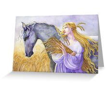 Epona Greeting Card