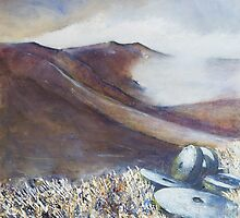 Grindstones, Stanage Edge by Sue Nichol
