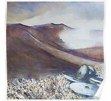 Grindstones, Stanage Edge Poster