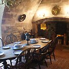 Lindisfarne Castle, dining room by BronReid