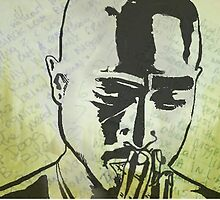 2Pac by Blueade