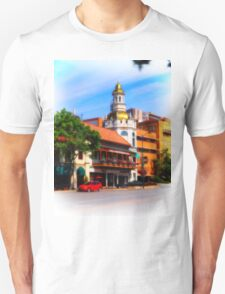 Figlio's on the Country Club Plaza, Kansas City, Tilt-Shift, Blur T-Shirt