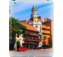 Figlio's on the Country Club Plaza, Kansas City, Tilt-Shift, Blur iPad Case/Skin
