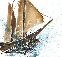 Tall ship xi by Vanessa Maleviti