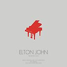 ELTON JOHN - The 'Rocket Man' by Mark Hyland