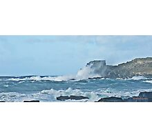 """"""" Five hours after the storm surge"""" Photographic Print"""