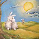 Bunny Family by Oleg Rakitine