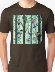 Studio Ghibli Family Tree T-Shirt