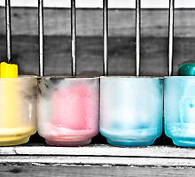 four candles by Vanoglio Gianluca