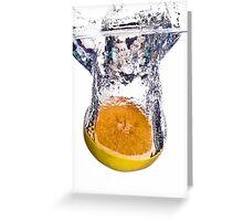 Grapefruit Splash Greeting Card