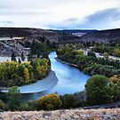 Fall on the Yakima by Mike  Kinney