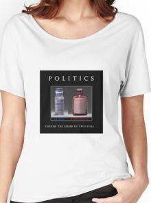 Poison Politics Women's Relaxed Fit T-Shirt