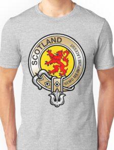 Scotland Lion Rampant Crest Unisex T-Shirt