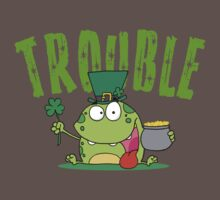Irish Trouble Baby Tee