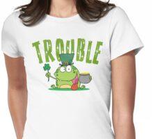 Irish Trouble Womens Fitted T-Shirt