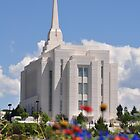 LDS Temple - Rexburg, ID by CADavis