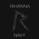 Rihanna Navy 'R' Design Black Case by TalkThatTalk