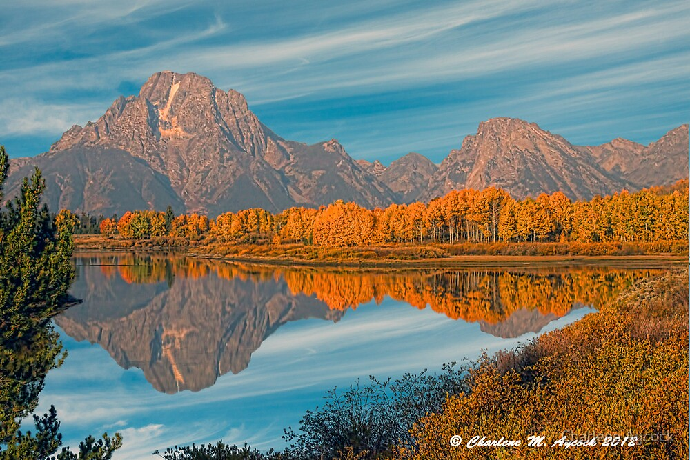 Color at Oxbow by Charlene Aycock