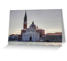 Basilica of San Giorgio Maggiore Greeting Card