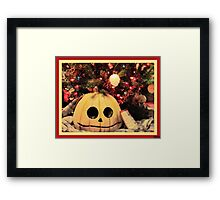 Twist on Christmas Framed Print