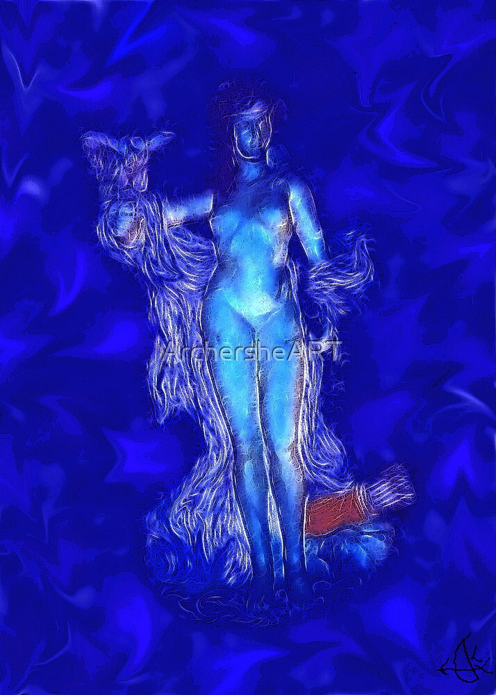Goddess Athena by ArchersheART