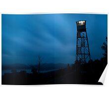 Fire Tower Light Poster