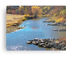 Autumn at Skunk Creek Metal Print