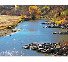 Autumn at Skunk Creek Photographic Print