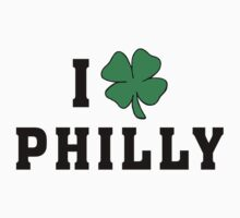 I Love (Shamrock) Philly by HolidayT-Shirts