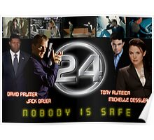 24 Nobody is Safe Poster