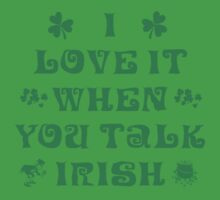 Talk Irish To Me Kids Clothes