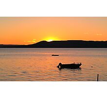 Glen Lake Sunset 2 Photographic Print