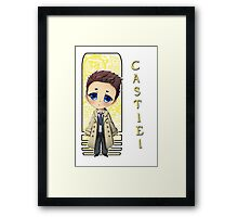 Supernatural - Castiel Framed Print